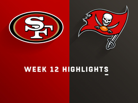 49ers vs Buccaneers highlights | Week 12