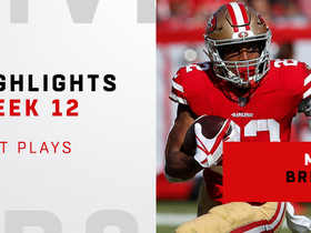 Breida's top plays from 140-yard day | Week 12