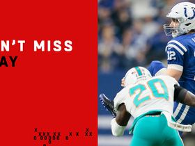 Can't-Miss Play: Brissett hits leaping Luck for big fourth-down pickup