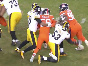 Von gets incredible jump off line to sack Big Ben