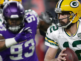 Rodgers gets smothered by Vikings defense