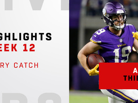 Every catch from Adam Thielen on 'SNF' | Week 12