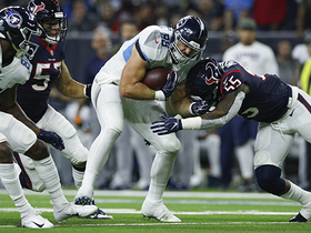 Texans STUFF Stocker on fourth-and-1 rush attempt