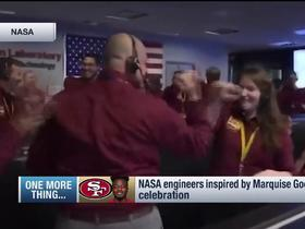 NASA engineers inspired by Goodwin's Week 3 TD celebration