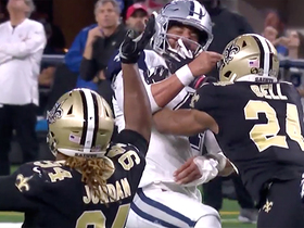 Saints' roughing the passer penalty negates late third-down stop