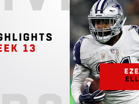 Best plays from Zeke's 130-yard day | Week 13