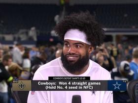 Zeke characterizes 2018 Cowboys: 'We run and we hit ... smashmouth football'