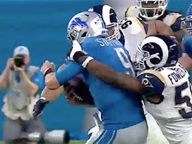 Fowler, Suh meet up to bring down Stafford for sack