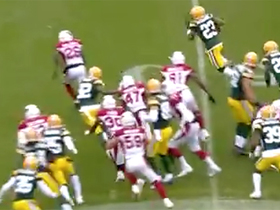 Jaire Alexander spins out of traffic on 26-yard punt return