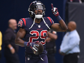 Andre Hal hauls in first INT since coming back from Hodgkin's Lymphoma
