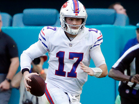Josh Allen escapes pressure, shows speed on 28-yard rush