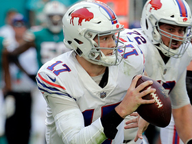 Josh Allen scampers for first down on second-and-20