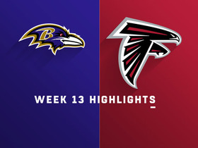 Ravens vs. Falcons highlights | Week 13