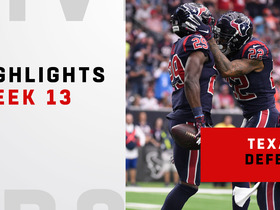 Biggest plays by the Texans' defense vs. Mayfield | Week 13