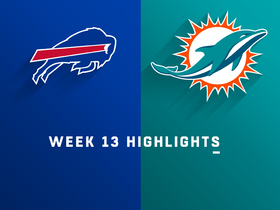 Bills vs. Dolphins highlights | Week 13