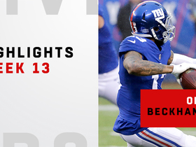 OBJ's best plays from two-TD day vs. Bears | Week 13