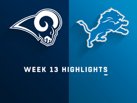 Rams vs. Lions highlights | Week 13