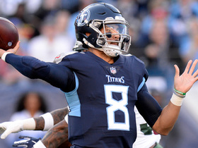 Mariota slings pass to Firkser for Titans' first TD
