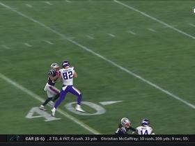 Rudolph shows terrific hands on contested catch