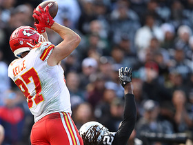 Travis Kelce goes WAY UP for 41-yard snag