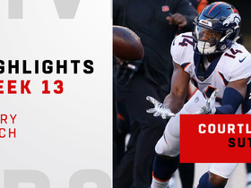 Every Courtland Sutton catch vs. the Bengals | Week 13