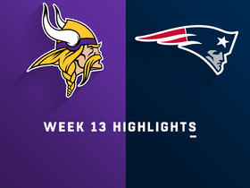 Vikings vs. Patriots highlights | Week 13