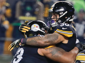 James Conner bursts past defenders for early TD run