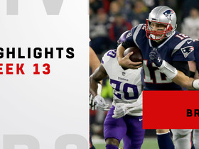 Tom Brady's best throws against the Vikings | Week 13