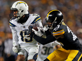 Keenan Allen breaks tackle on third-down catch
