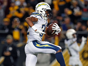 Justin Jackson gives Chargers first lead of game on shifty TD run