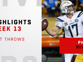 Philip Rivers' best throws from comeback win | Week 13