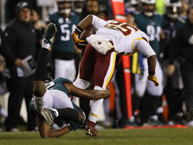 Eagles not fooled by Redskins double-pass trick play