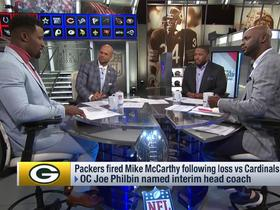 James Jones breaks down what Rodgers is thinking after McCarthy firing