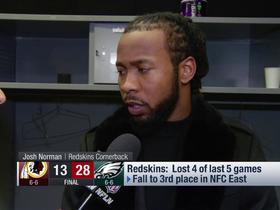 Josh Norman: We can still run the table