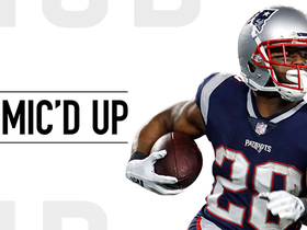 Mic'd Up: James White fired up for Develin's two TDs | Week 13