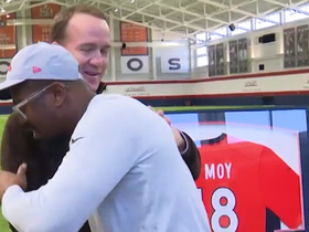 Peyton surprises Von for Man of the Year announcement