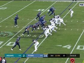 Mariota hangs in pocket to deliver dime to diving Firkser