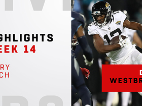 Every catch from Dede Westbrook's 88-yard night vs. Titans | Week 14
