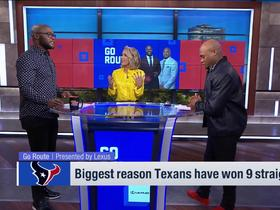 Go Route: Biggest reason Texans have won 9 straight games?