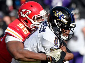 Chris Jones overpowers Ravens OL for third-down sack