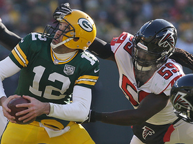 De'Vondre Campbell sacks Rodgers on third-and-7