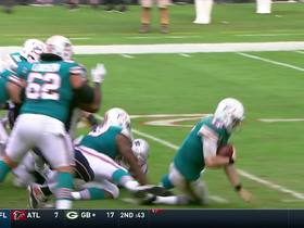 Tannehill injured after being wrapped up in tackle