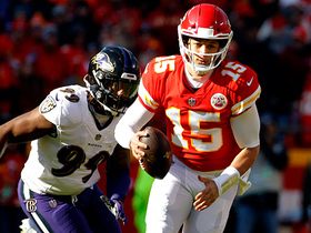 Matt Judon wraps up Mahomes for big sack