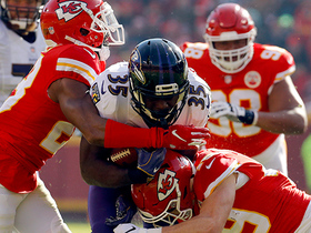 Chiefs DL chops down Gus Edwards just short on fourth-and-one