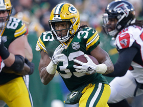 Aaron Jones shows off his wheels on 29-yard TD