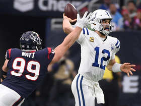 J.J. Watt splits double-team for big sack of Andrew Luck