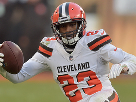 Damarious Randall seals game for Browns with INT