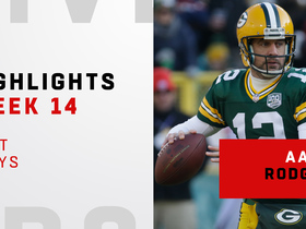 Aaron Rodgers' best plays against the Falcons | Week 14