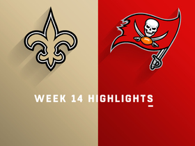 Saints vs. Buccaneers highlights | Week 14