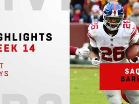 Saquon's best plays from 197-yard game | Week 14